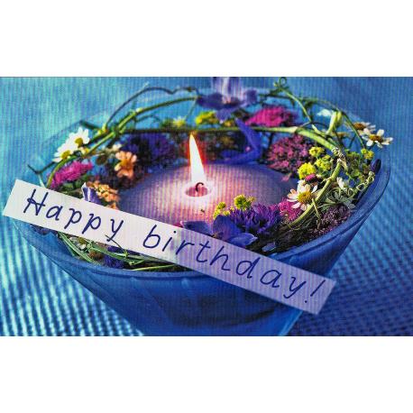 Karte: Happy Birthday!